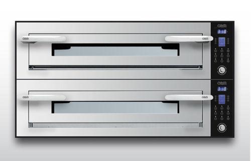 Forno elettrico / professionale / a pizza / a 2 camere OPTYMO CONCEPT: 635L/2 INOX OEM - Pizza System