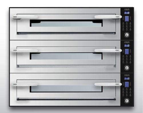 Forno elettrico / professionale / a pizza / a 3 camere OPTYMO CONCEPT: 635L/3 INOX OEM - Pizza System
