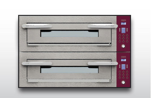 Forno elettrico / professionale / a pizza / a 2 camere OPTYMO CONCEPT: 635S/2 CEMENT OEM - Pizza System