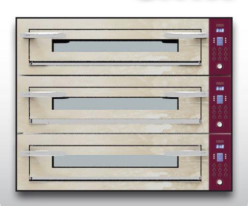 Forno elettrico / professionale / a pizza / a 3 camere OPTYMO CONCEPT: 935/3 ONYX OEM - Pizza System