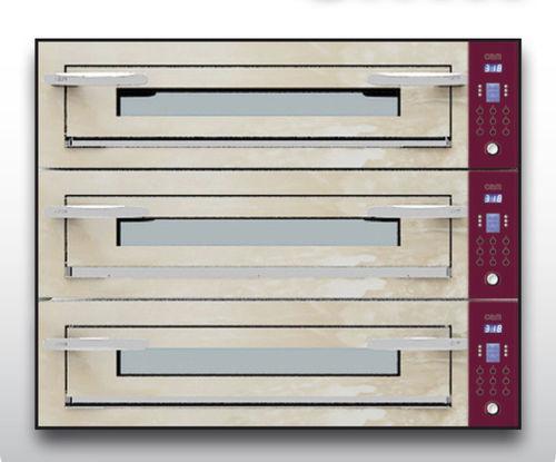 Forno professionale / elettrico / per pizza / a 3 camere OPTYMO CONCEPT: 935/3 ONYX OEM - Pizza System