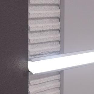battiscopa in alluminio / luminoso
