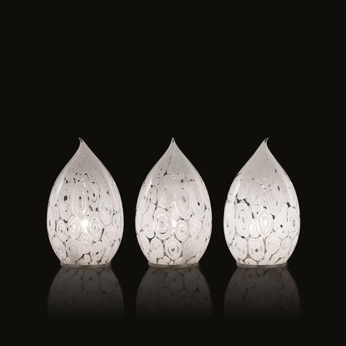 lampada da tavolo / moderna / in vetro / in vetro di Murano