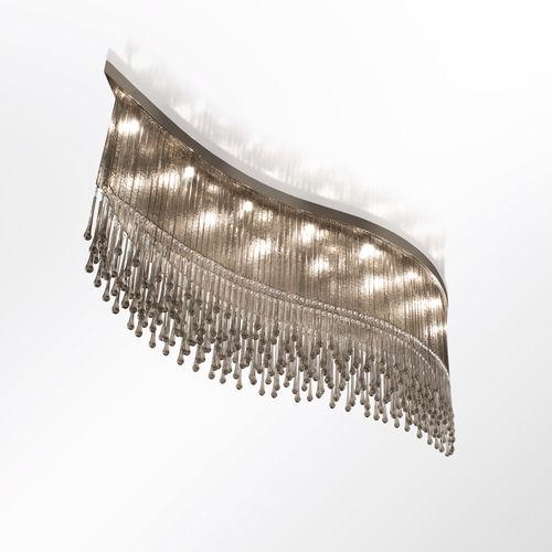 plafoniera moderna / in vetro di Murano / in cristallo Swarovski® / LED