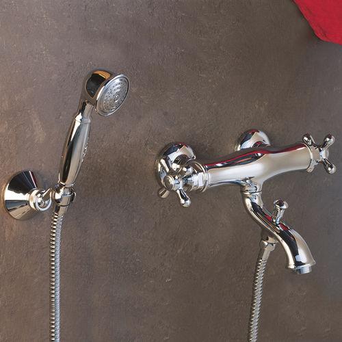 Miscelatore doppio comando da doccia / per vasca / da parete / in metallo cromato ARTE: FATH48630 GUGLIELMI