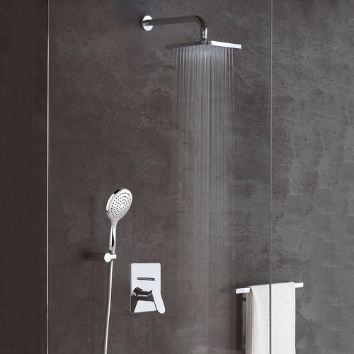 miscelatore da doccia / da incasso / in acciaio / da bagno