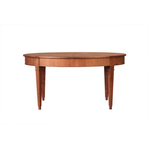 tavolo da pranzo classico / in ciliegio / ovale / allungabile