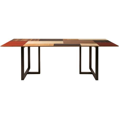 tavolo moderno / in noce / in ciliegio / in acero