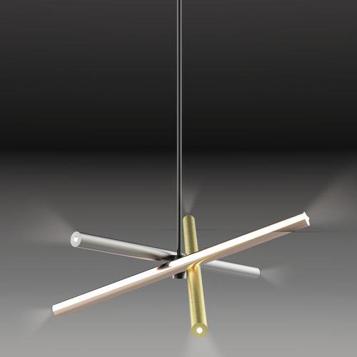 lampada a sospensione / moderna / in metallo / regolabile