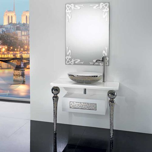 mobile lavabo da appoggio / in ceramica / in stile