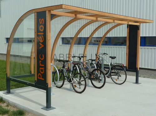 pensilina per biciclette