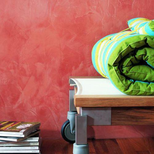 intonaco decorativo / da interno / per muro / a base di calce