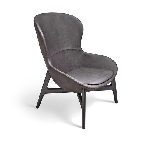 Poltrona moderna / in metallo / in tessuto / in pelle ROUND by Edi & Paolo Ciani Design Ditre Italia