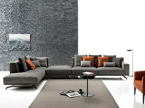 Divano modulare / d'angolo / moderno / in pelle DALTON SOFT by Spessotto & Agnoletto Ditre Italia