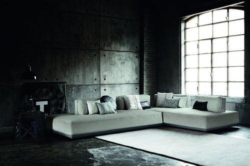 Divano modulare / moderno / in pelle / ecopelle SANDERS MIX by Spessotto & Agnoletto Ditre Italia