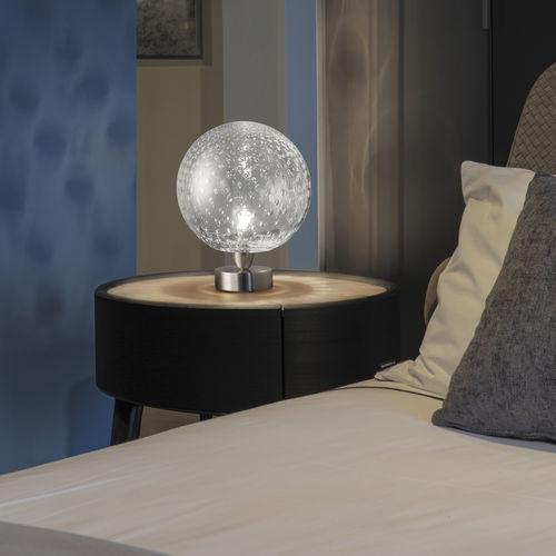 lampada da tavolo / moderna / in vetro / da interno
