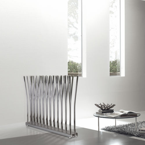 radiatore ad acqua calda / in metallo / design originale / orizzontale