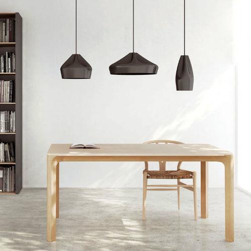 tavolo moderno / in faggio / rettangolare