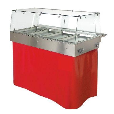 vetrina riscaldata da appoggio / per negozio