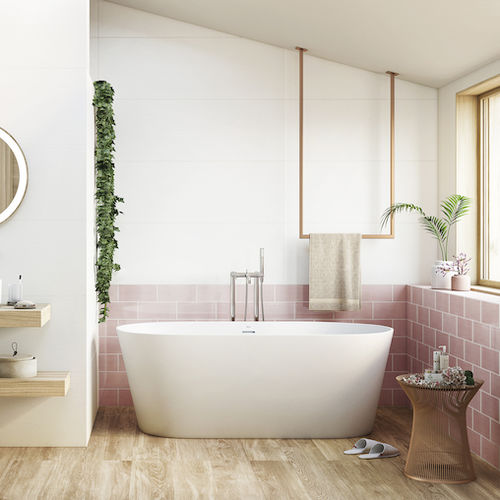 piastrella da bagno / da parete / in ceramica / 40x120 cm