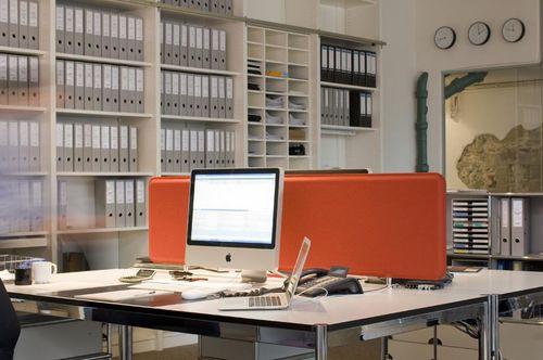 pannello acustico per interni / in feltro / a doppia faccia / per ufficio