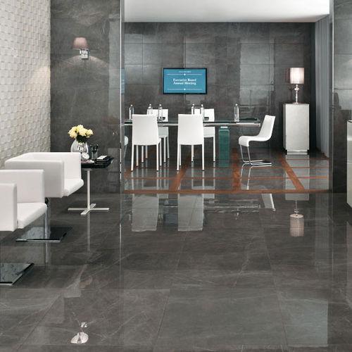 Piastrella per pavimento / in gres porcellanato / opaca / aspetto marmo MARVEL FLOOR Atlas Concorde