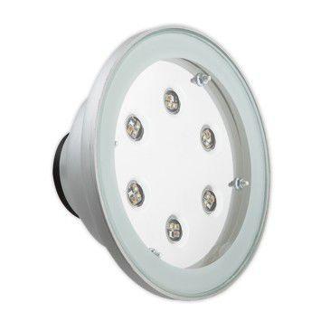 luce da incasso a pavimento / LED RGBW / tonda / per piscina