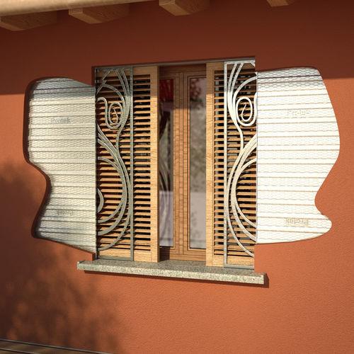 persiana a scomparsa / in legno / per finestra