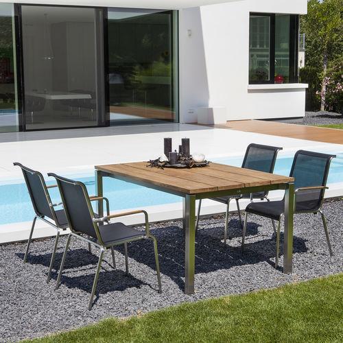 tavolo moderno / in quercia / in teak / in noce americano