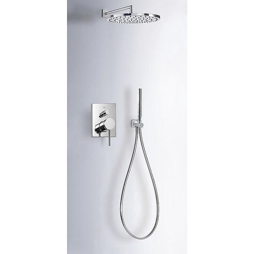 set doccia da incasso a muro - TRES Grifería