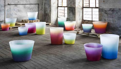 Vaso da giardino in plastica ALBA by Massimiliano Adami SERRALUNGA