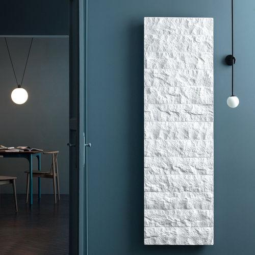 radiatore elettrico / in metallo / in pietra / moderno