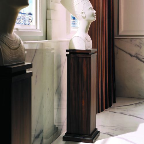 piedistallo moderno / in legno / rettangolare