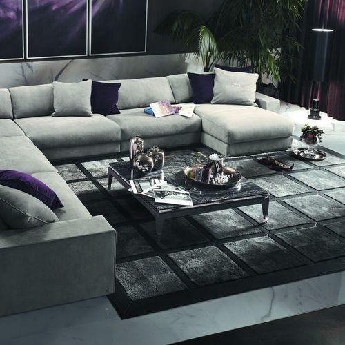 tavolino basso classico / in legno / quadrato / da interno