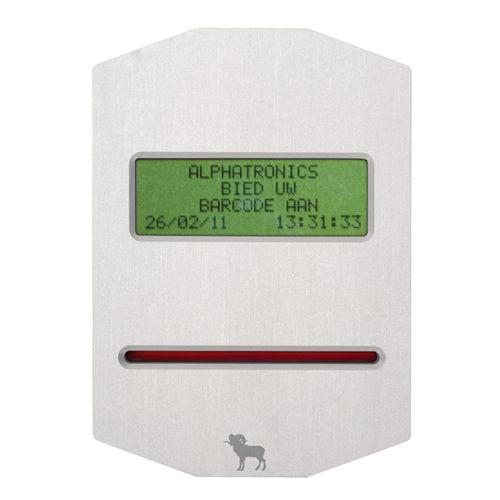 Lettore di codice a barre per controllo accessi AT/RS485 Alphatronics