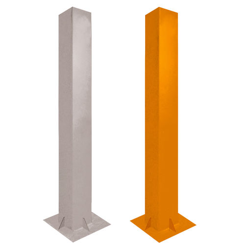 Colonna di controllo accessi / in alluminio / fissa / per parcheggio BASELINE Alphatronics