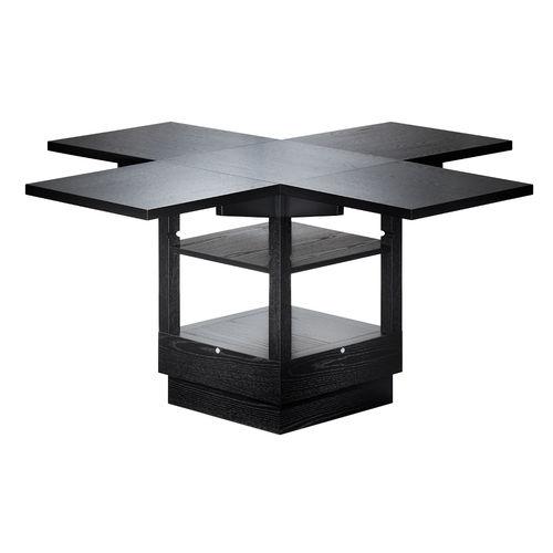 Tavolo design Bauhaus / in frassino / allungabile / ad altezza regolabile M10 by Erich Brendel Tecta