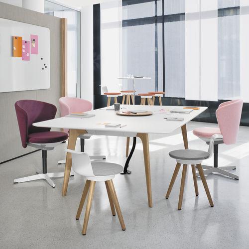 tavolo da riunione moderno / in quercia / in MDF / in legno massiccio