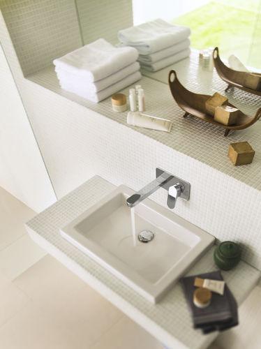 Miscelatore per lavabo / da parete / in ottone / da bagno - UP ...