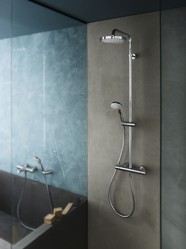Miscelatore da doccia / da parete / in ottone / da bagno - SKY ...