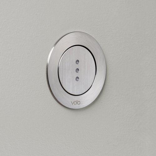 sciacquone elettronico / con sensore / per WC