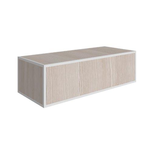 mobile lavabo a muro / in legno / moderno / con cassetti