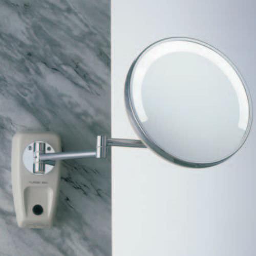 specchio da bagno a muro / luminoso / ingranditore / moderno