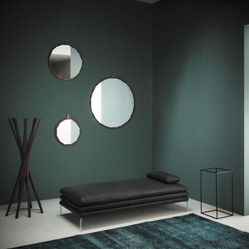 Specchio a muro / moderno / rotondo / in metallo RAPERONZOLO by Atelier Oi Zanotta