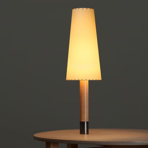 lampada da tavolo / moderna / in nichel / in bronzo