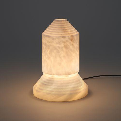 lampada da tavolo / design originale / in alabastro / fatta a mano