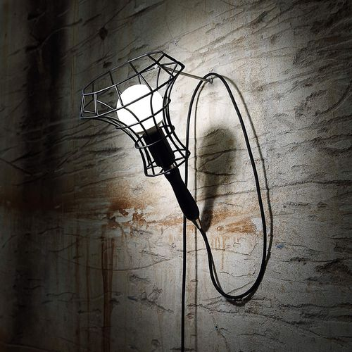 Applique moderna / in plastica / in ferro LADY CAGE by Massimo Rosati ZAVA SRL