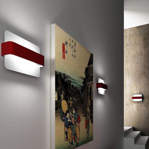 Applique moderna / in ferro / LED / rettangolare MANTA by Enrico Azzimonti ZAVA SRL