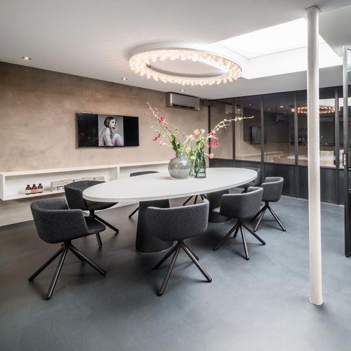 Plafoniera design originale / rotonda / in vetro / in alluminio HALO by Jasper van Grootel JSPR