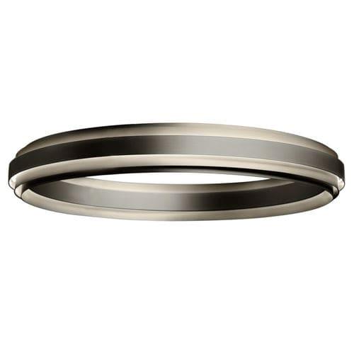 plafoniera moderna / tonda / in alluminio / LED